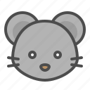 animal, chinese, rat, zodiac icon