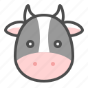 animal, chinese, cow, ox, zodiac icon