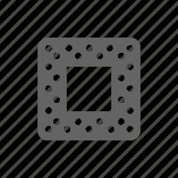 chip, cpu, engineering, microscheme, processor, socket, technology icon