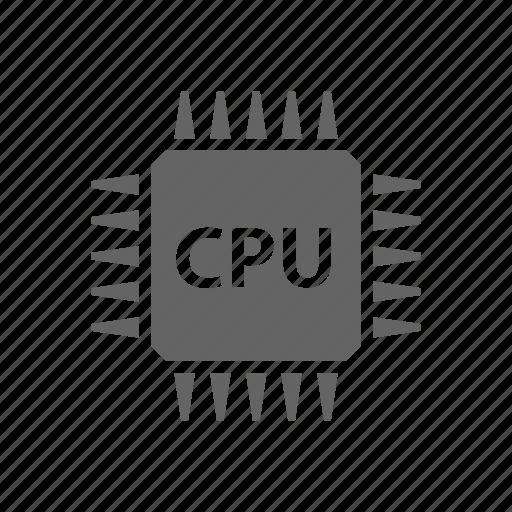 chip, computer, cpu, electronics, microscheme, processor icon