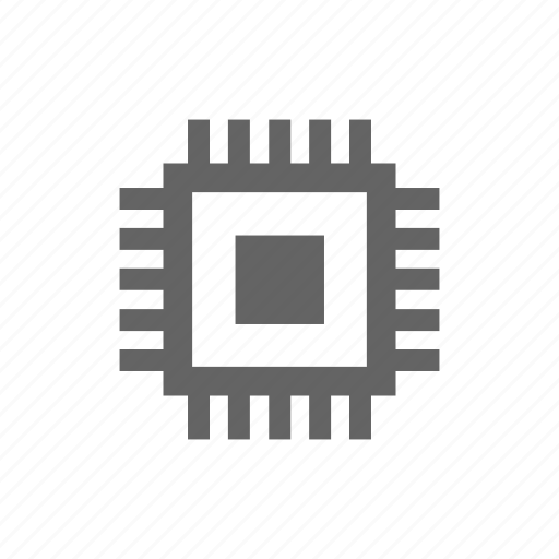 chip, computer, cpu, electronics, microscheme, processor, technology icon
