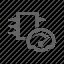 chip, element, microscheme, performance, processor, scheme, technology icon