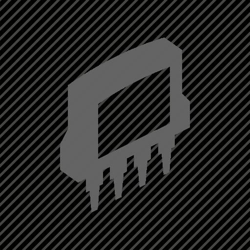 chip, computer, element, microscheme, processor, technology icon