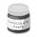 chocolate, dessert, food, pasta, sweetness icon