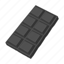 chocolate, dessert, food, sweet, tile icon