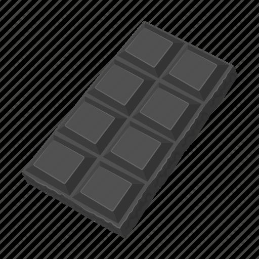 chocolate, dessert, food, sweet, tile icon