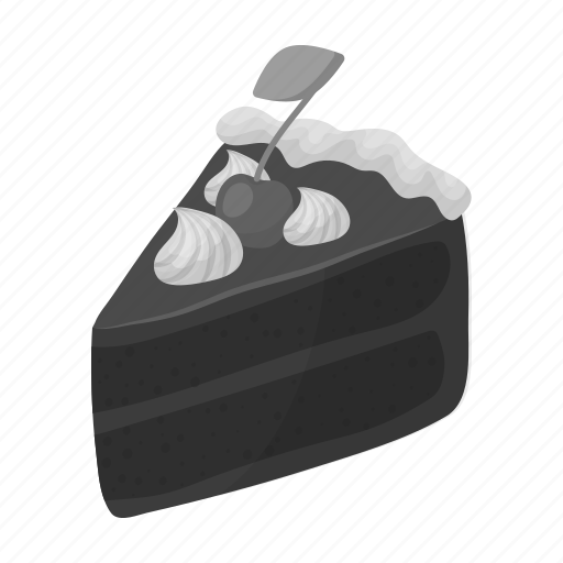 cake, chocolate, dessert, food, piece, sweetness icon