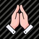 pray, hands, religion, prayer