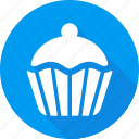 christmas, holiday, muffin, vacation, winter icon