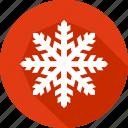 christmas, holiday, snowflake, vacation, winter icon