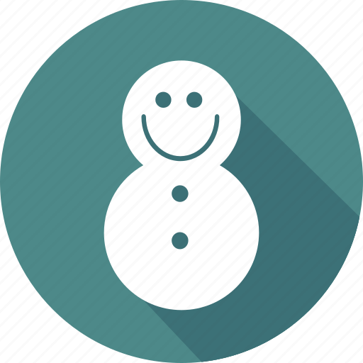 christmas, holiday, snowman, vacation, winter icon