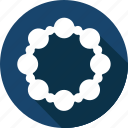 christmas, holiday, tambourine, vacation, winter icon
