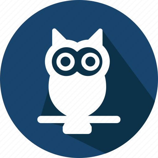 christmas, holiday, owl, vacation, winter icon