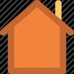 building, bungalow, home, house, hut, shack, villa icon