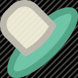 beach hat, cowboy hat, floppy hat, hat, headgear, summer hat icon