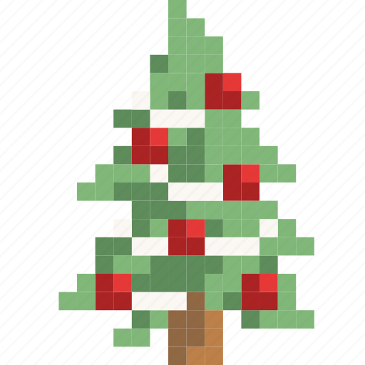 christmas, decorate, gift, holiday, pretty, tree icon