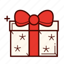 birthday, bow, decoration, gift, present, ribbon, surprise icon
