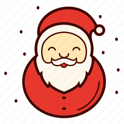 beard, christmas, happy, holiday, santa, santa clause, xmas icon