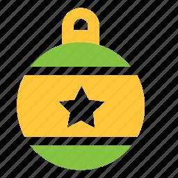 ball, bauble, decor, decorations, tree, xmas icon