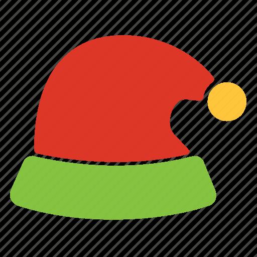 cap, christmas, claus, santa, winter, xmas icon