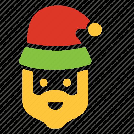 celebration, christmas, decoration, santa, winter, xmas icon