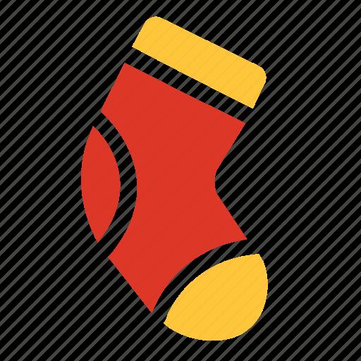 christmas, decoration, sock, socks, stocking, winter icon
