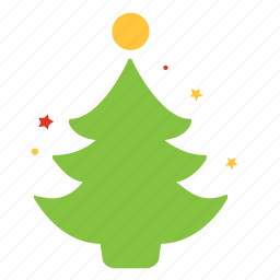 christmas, decoration, forest, nature, tree, winter icon