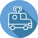 car, festival, holiday, vacation icon