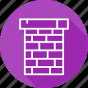 chimney, festival, holiday, vacation icon