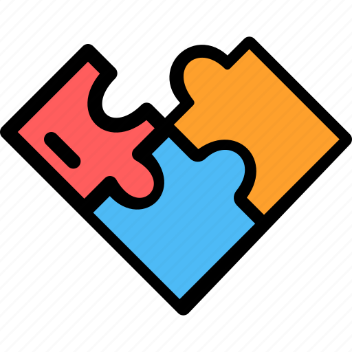 christmas, festival, holiday, puzzle icon