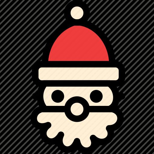christmas, cluse, festival, holiday, santa icon