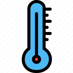 christmas, festival, holiday, thermometer icon
