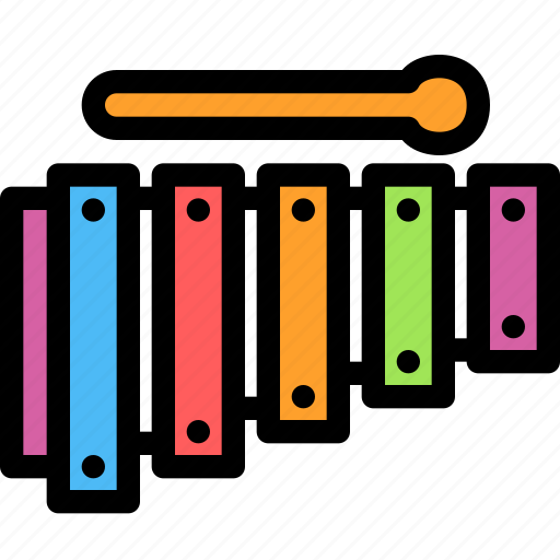 christmas, festival, holiday, xylophone icon