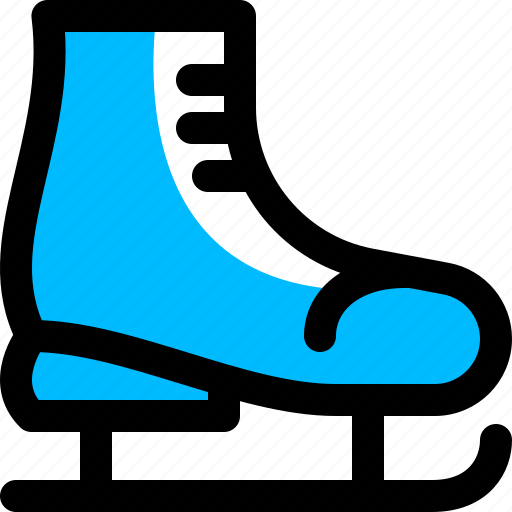 ice, shoe, skating, winter icon