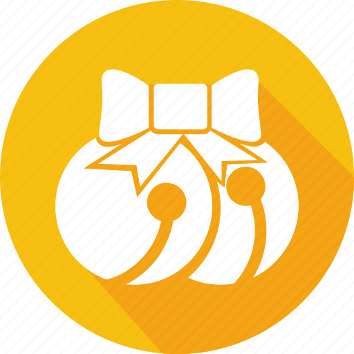 bells, christmas, holiday, vacation, winter icon