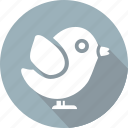 bird, christmas, holiday, vacation, winter icon