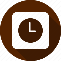 christmas, clock, holiday, vacation, winter icon