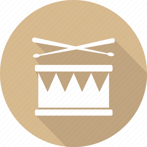 christmas, drum, holiday, vacation, winter icon