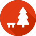 christmas, holiday, pine, tree, vacation, winter icon