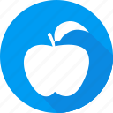 apple, christmas, holiday, vacation, winter icon