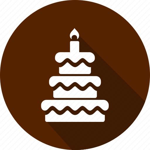 cake, christmas, holiday, vacation, winter icon
