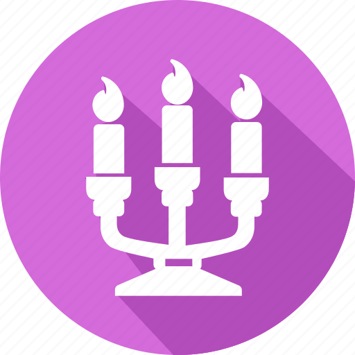 candle, christmas, holiday, vacation, winter icon
