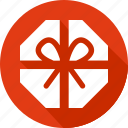 box, chocolate, christmas, holiday, vacation, winter icon
