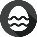 christmas, egg, holiday, vacation, winter icon