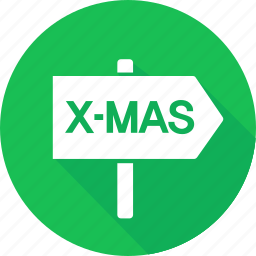 christmas, direction, holiday, vacation, winter icon