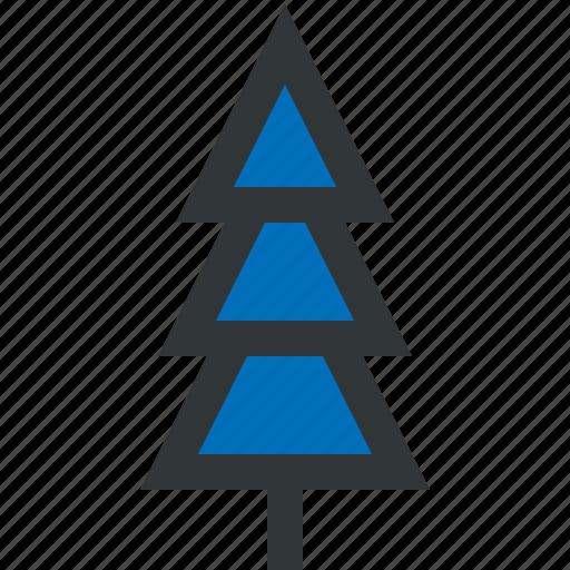 blue, christmas tree, tree, winter icon