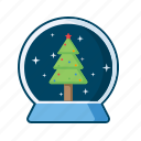 christmas, fir, holiday, star, tree, xmas icon