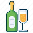alchohol, celebration, party, wine icon