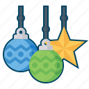 christmas, decoration, light, lights, snowflake icon