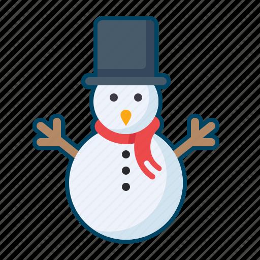 celebration, christmas, decoration, holiday, snowman icon